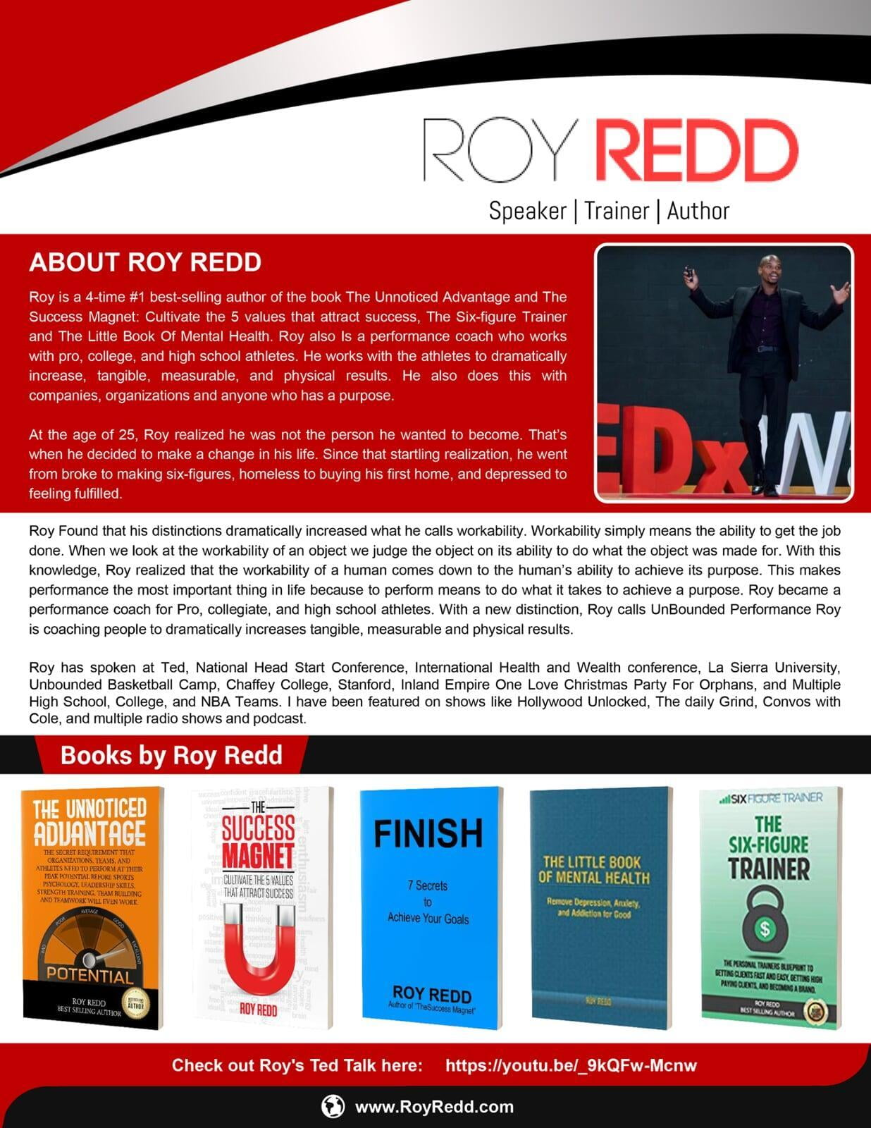 About Roy Redd